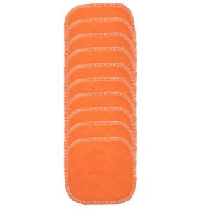 12460 lingettes lavable mypads orange
