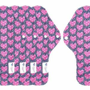serviette fushia hygiénique lavable mypads SH4420-M-FUS